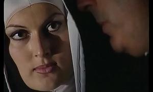 Horny nun wants a hard cock concerning her evil ass