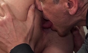 Young twink gets his asshole destroyed by a handsome man