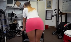 Interracial doggystyled casting babe pounded