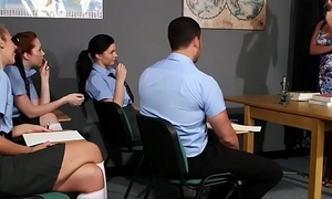 Making be in love with Teacher Strips Advanced position Student