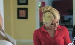 Mom Knows Best - (Anikka Albrite, Aspen Ora) - Offbeat Job Interview - Twistys