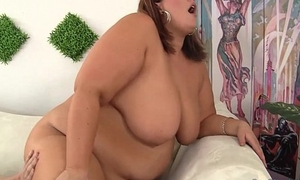 Huge Honey Blows a Guy and Gets Will not hear of Fat Pussy Fucked