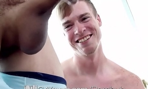 GayRoom - Twink Struggles To Respecting MASSIVE Cock
